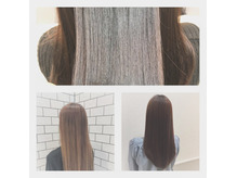 紫外線ダメージをリセット☆ツヤツヤの髪の毛に、、、